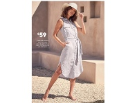 Target Linen Shirt Dress Sizes 8-20