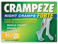 TerryWhite Chemmart Crampeze Night Cramps Forte 60 Tablets