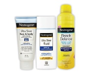 TerryWhite Chemmart Neutrogena Sun Care Selected Range