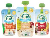 Woolworths Woolworths Smiling Tums Baby Food Pouch 120g